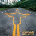 Ar ko Jēzus brauktu?