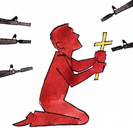 atklāj, kuru konfesiju kristieši ir visvairāk vajātie