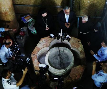 Atklāts 1500 gadu vecs kristāmtrauks