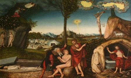 Bauslība un Evaņģēlijs kā pretstati