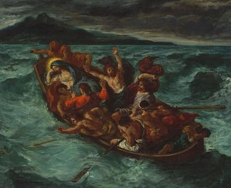 Baznīcas kuģis ceļo pa pasaules jūru