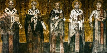 Baznīctēvi, kas rakstījuši par Kristu jūsos