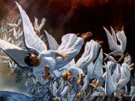 būt kā svētajiem eņģeļiem