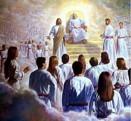 būt kopā ar svētajiem