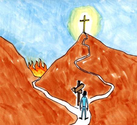 ceļš uz debesu valstību