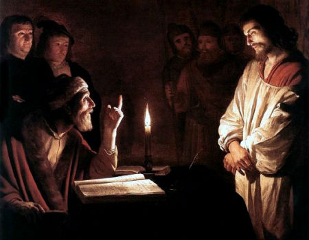 Dažādi posmi Jēzus tiesāšanā