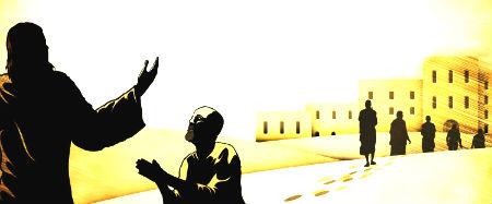 desmit spitālīgie ceļā uz Jeruzālemi
