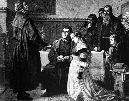 Diena, kad apprecējās Luters