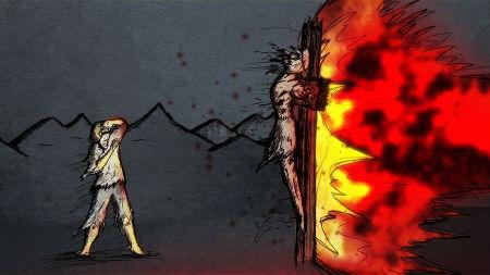 Dievs savās attiecības ar cilvēci lieto masku