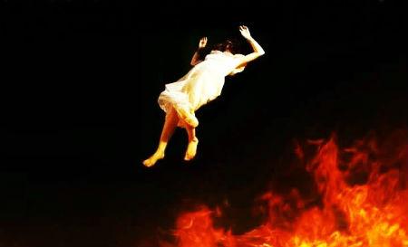 Dievs soda neticīgos un iemet tos velna rīklē