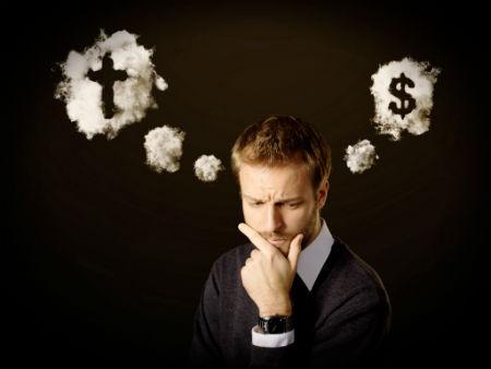 Dievs un nauda