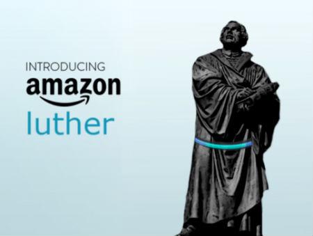 digitālais balss asistents Lutera faniem