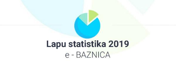 e-BAZNICA statistika 2019