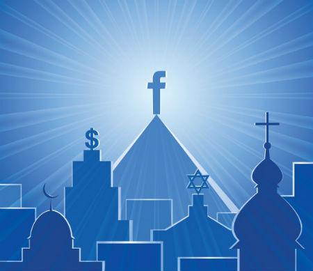 Facebook kā baznīcas aizstājējs