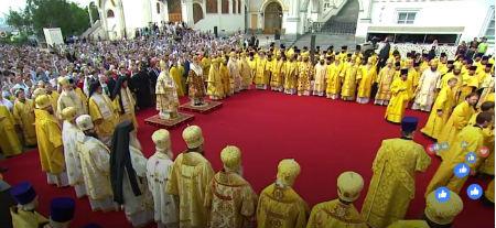 Grandiozas pareizticīgo procesijas Maskavā un Kijevā