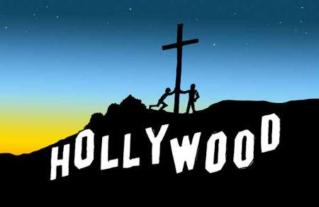 Holivudas slavenības kristiešsi