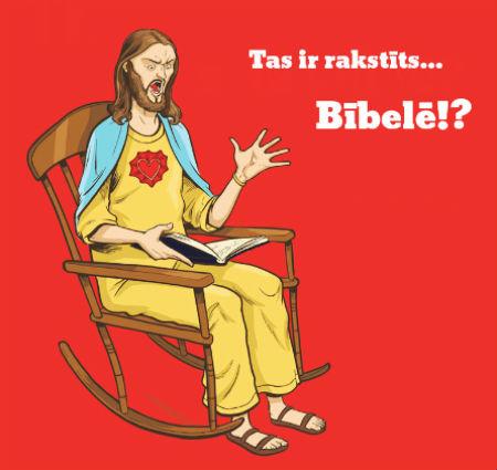 ilustrētie Bībeles panti