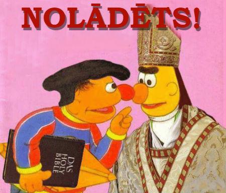 Īstenie luterāņi ir Romas baznīcas nolādēti