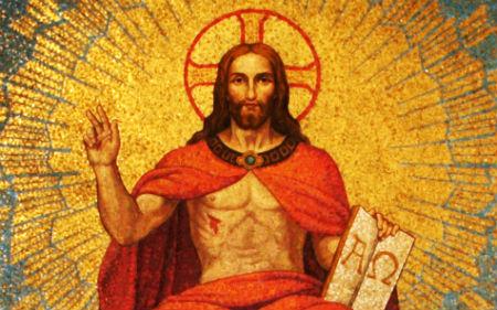 Izteiksmīgs teksts, kas apraksta Kristus dievišķību