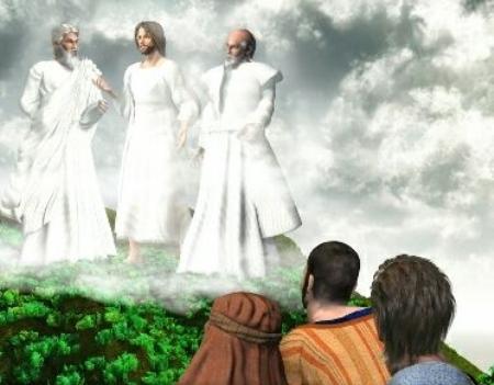 svarīgākais Jēzus apskaidrošanas notikumā