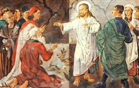 Jēzus kopā ar Hitleru baznīcā