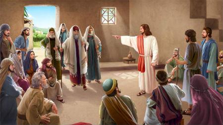 Jēzus ļoti asi atgādina par atgriešanos no grēkiem