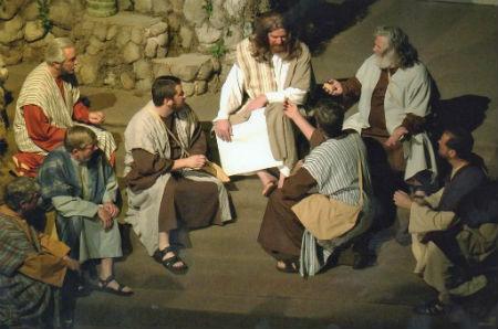 Jēzus mācību sarunas hronoloģiskā secībā