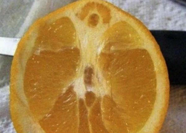Jēzus tēls parādījies pārgrieztā apelsīnā