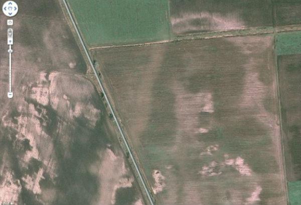 Jēzus redzams Ungarijas teritorija ar Google Earth starpniecību