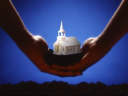 kā baznīca ir dibināta un saglabāta