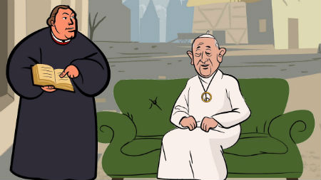Kam ir senāka mācība - Romas katoļiem vai luterāņiem?