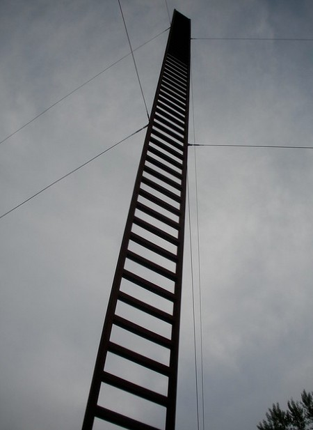 Kāpnes debesīs