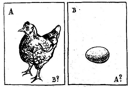 Kas bija vispirms - vista vai ola?
