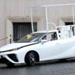 Katoļu pāvestam videi draudzīgs automobilis