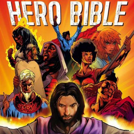 komiksu grāmata ar Bībeles varoņiem