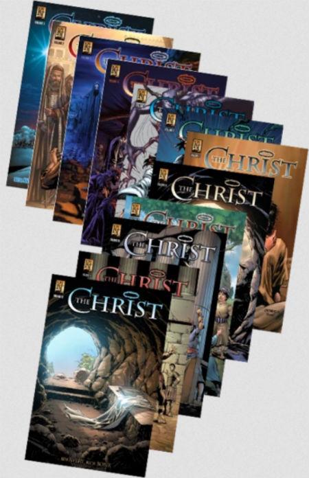 Komiksu žurnāls par Kristu