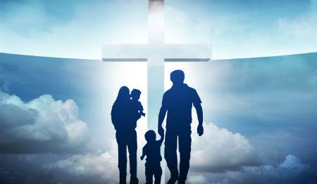 kristīga ģimene