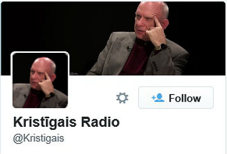 kristīgais radio tviter konts