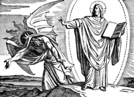 Kristus cīņa ar sātanu