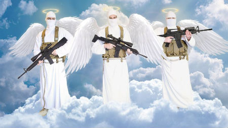 labie eņģeļi darbībā