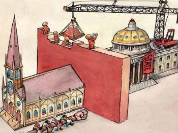 Laicīgās valstības un garīgās valstības sajaukšana
