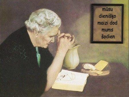 Lūgt par dienišķo maizi
