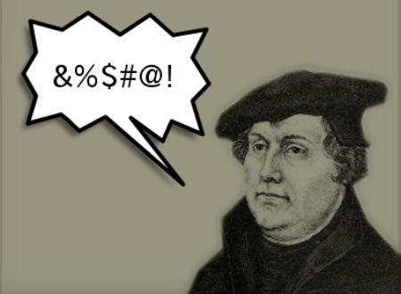 Lutera aizskarošie izteicieni vienkopus