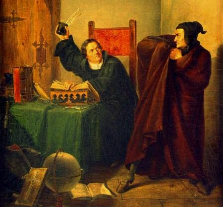 Luters par nekristīgām blēņām