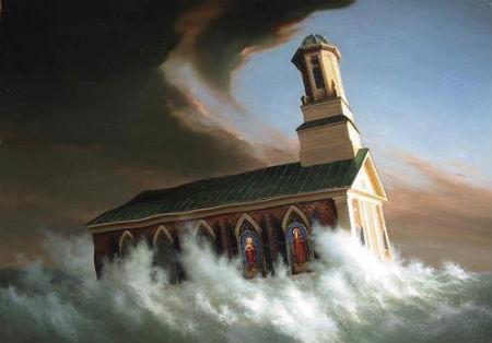 Maldīgas mācības par baznīcu