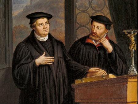 Mārtiņa Lutera zīmīgi izteikumi par Svēto Vakarēdienu