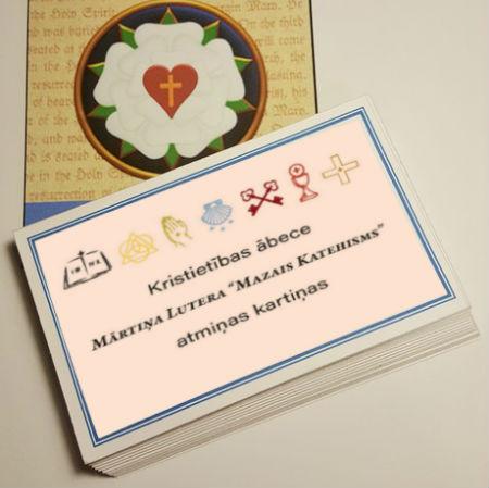 Mazā Katehisma atmiņu kartiņas