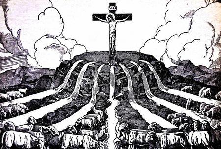 Mēs nevaram būt saistībā ar Dievu ārpus Kristus
