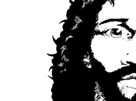 """Neierasts fotostāsts """"Savējais čalis Jēzus"""""""