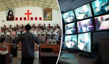 Novēro kristiešus ar kamerām